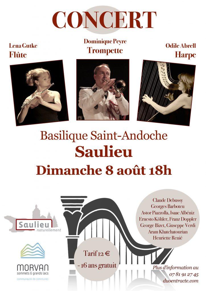 Concert Duo Entract Basilique Saint-Andoche