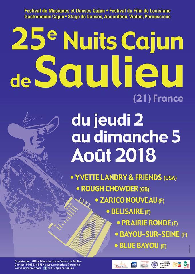 25è Nuits Cajun Saulieu