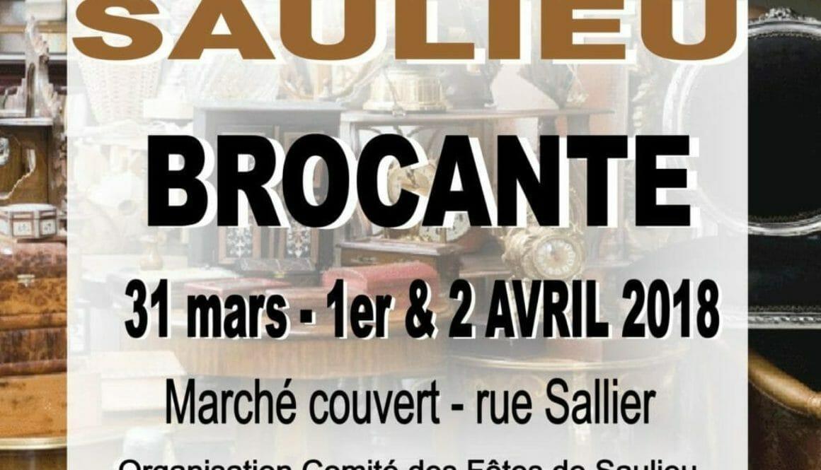 BROCANTE 1&2 avril 2018
