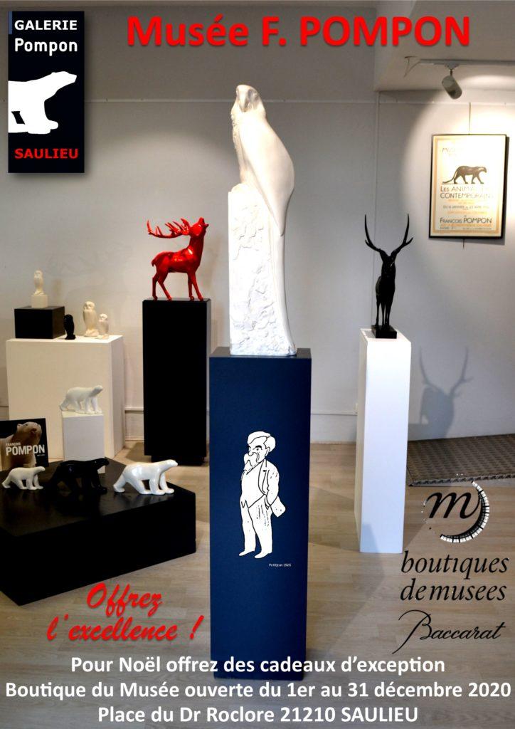 GALERIE Pompon BOUTIQUE Musée