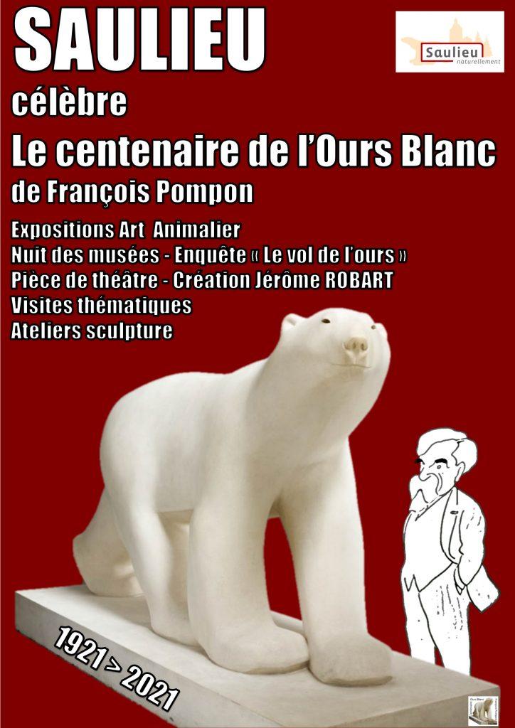 Centenaire ours Pompon