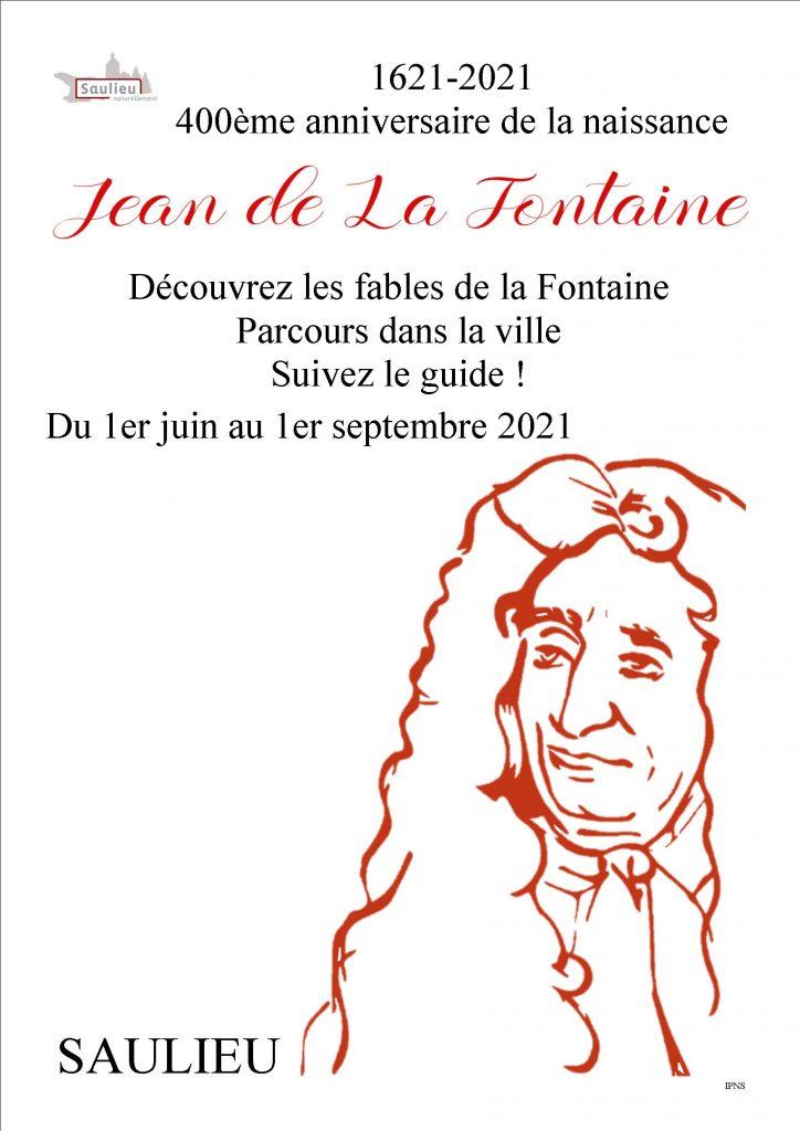 400ème anniversaire de la naissance de Jean de la Fontaine