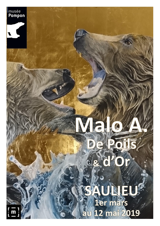 affiche malo De poils et d'or Malo A