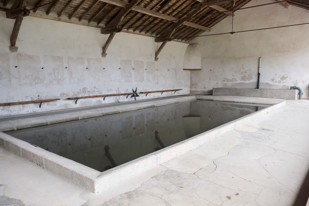 Washing place dating from 1764