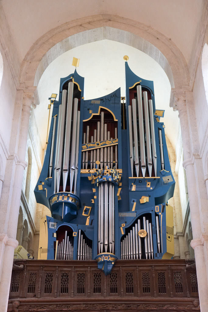 Orgue de la Basilique Saint Andoche