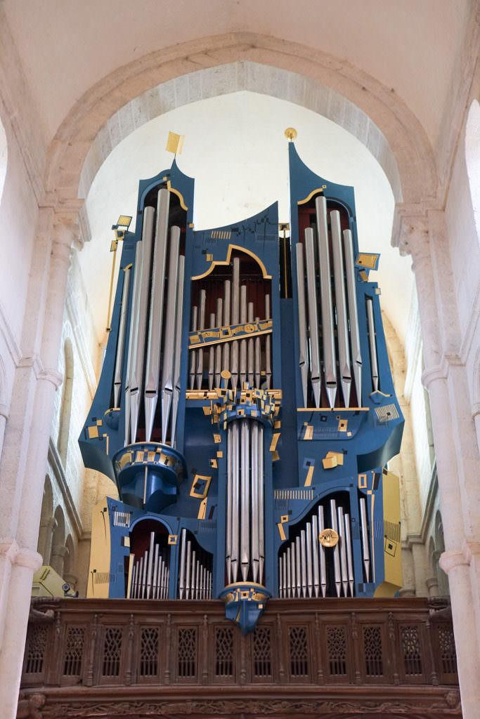 Orgue de la Basilique Saint Andoche